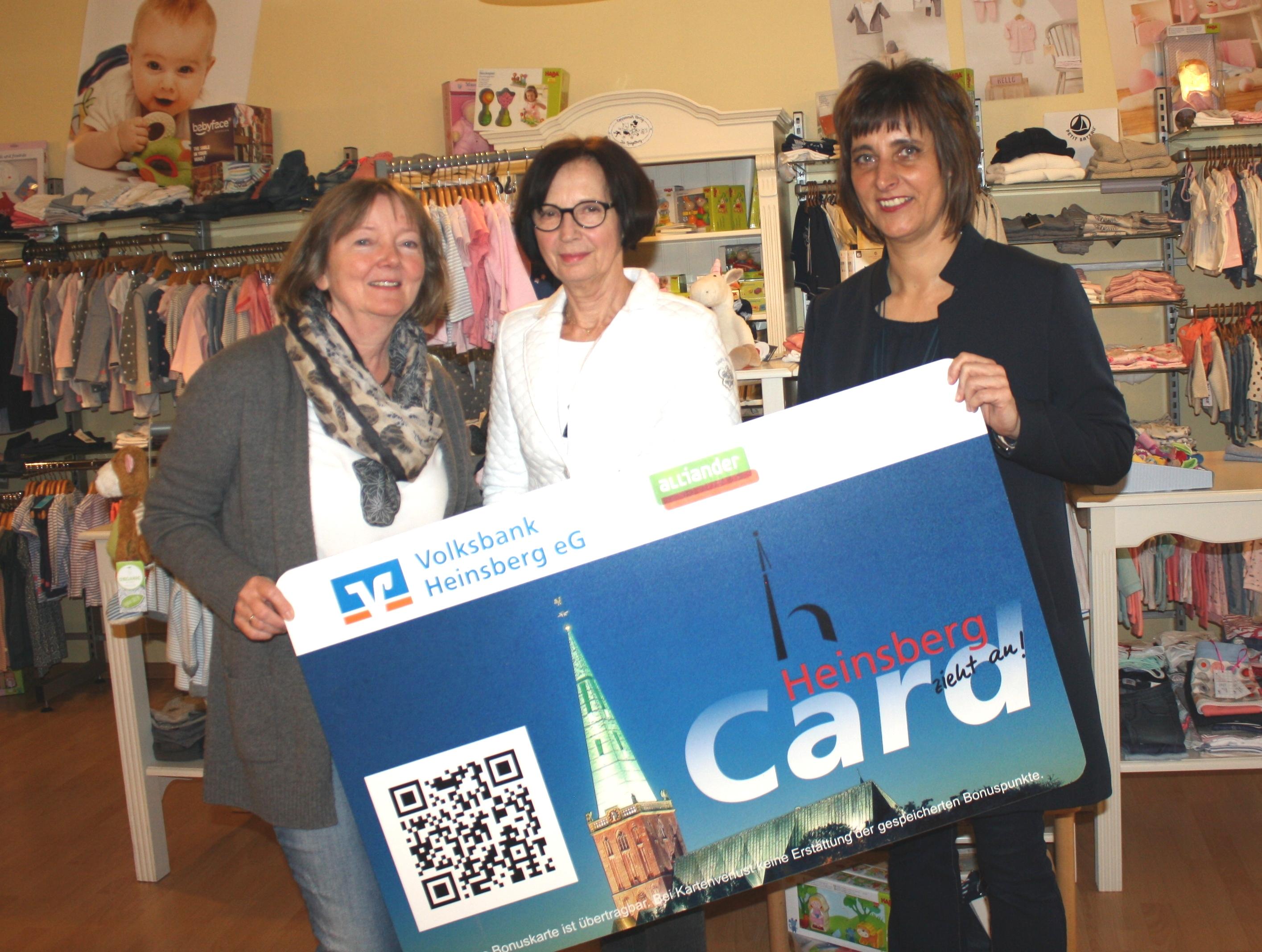 Punkte für die Enkelkinder – HeinsbergCard gratuliert Trudi Speis ...