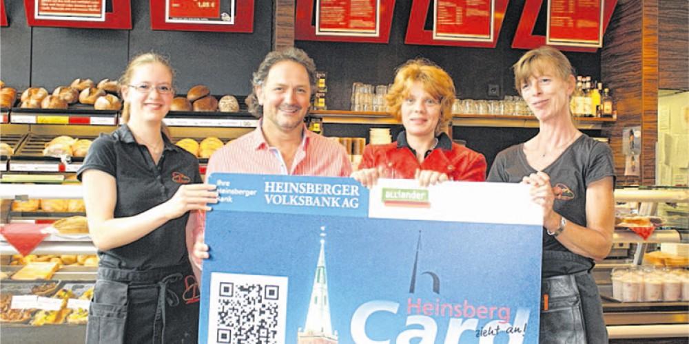 Punktekönig August – Tolles Geschenk | HeinsbergCard