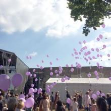 Gewinner des Lutherfestival Ballonweitflug-Wettbewerbs