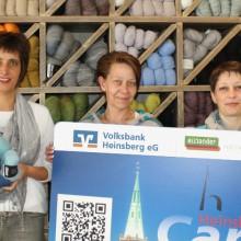 Kluge Wolle neuer Händler der HeinsbergCard