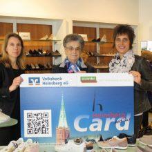 Viele Punkte beim Schuhkauf – Lieselotte Coenen ist Punktekönigin im April