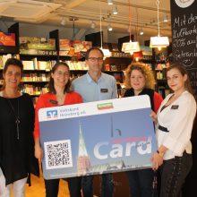 Punkten in der Mayerschen Buchhandlung – HeinsbergCard freut sich über neues Mitglied