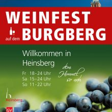 Heinsberger Weinfest nimmt (neue) Formen an