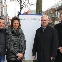Aufwertung für die City – Neue Hinweisschilder in Heinsberg aufgestellt