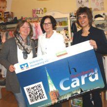 Punkte für die Enkelkinder – HeinsbergCard gratuliert Trudi Speis