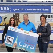 43.000 Euro liegen auf den Karten – Dass die HeinsbergCard sich lohnt, erfuhr jetzt auch Sascha Bendig.